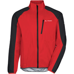 VAUDE Drop III Jas Heren, mars red
